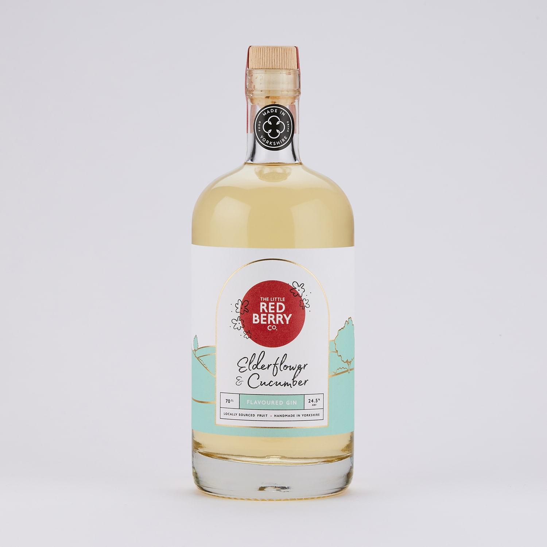 70cl Elderflower & Cucumber Flavoured Gin